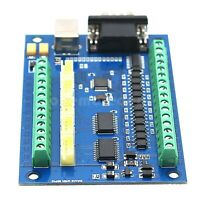 5 Axis CNC MACH3 Motion Control Breakout Board Card for CNC Engraving 12-24V dl