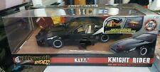 JADA HOLLYWOOD RIDES KNIGHT RIDER KITT W/ RED LIGHT OPENING DOORS 1/24