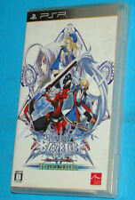 Blazblue Calamity Trigger Portable - Sony PSP - JAP Japan