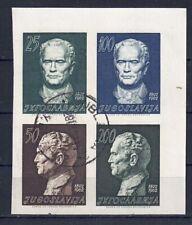 Jugoslawien 1962 - Josip Broz Tito, Nr. 1003 - 1006 B, gestempelt