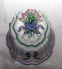 LE CORDON BLEU Franklin Mint  Jello Mold 1986 Asparagus Collectible Wall Decor