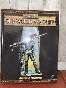 Warhammer Fantasy Roleplay Old World Armoury RPG Hardcover Militaria/Miscellania