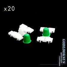 20Pcs Door Fender Moulding Trim Clip 51131960054 For BMW E36 E46 323 325 328