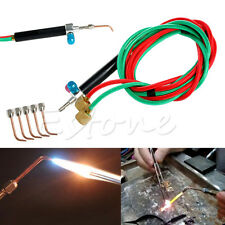 Jewelry Jewelers Micro Mini Gas Little Torch Welding Soldering Kit & 5 Tips New