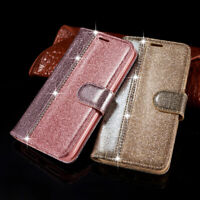 Bling Leather Diamond Flip Wallet Case Card Cover for iPhone XR XS Max 7 8 Plus