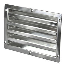 Air Vent for Caravans and Boats 316 Grade Stainless Steel  Louvre  Air vent