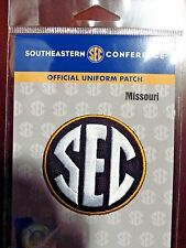 Official Licensed NCAA College Football Missouri SEC Conference Patch
