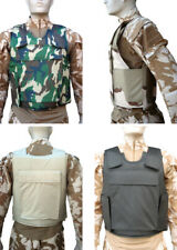 More details for ballistic bullet proof plate panel body armour **carrier only** (10x12