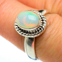 Ethiopian Opal 925 Sterling Silver Ring Size 8 Ana Co Jewelry R46520F