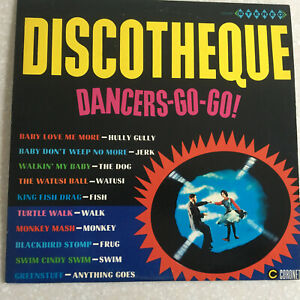 1965 SURF Record Discotheque Dancers Go Go LP Record CXS 245 STEREO M-