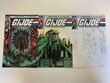 IDW G.I. JOE : A REAL AMERICAN HERO #210 : ALL COVERS BUNDLE : NM CONDITION