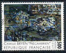 TIMBRE FRANCE OBLITERE N° 2493 TABLEAU CAMILLE BRYEN / Photo non contractuelle