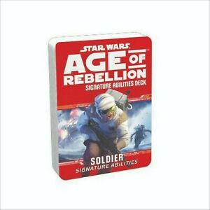 Star Wars Age of Rebellion – Soldier Signature Abilities Specialization Deck