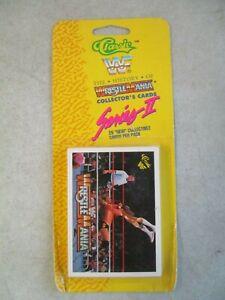 1990 WWF CLASSIC HISTORY OF WRESTLEMANIA SERIES II RACK PACK