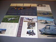 "VINTAGE..CV-22 OSPREY ""58TH S.O. WING"" HISTORY..PHOTOS/HISTORY..RARE! (693L)"