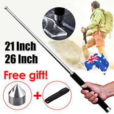 "21""/ 26"" Telescopic Stick Portable Pocket Self Defense Retractable Outdoor Tools"