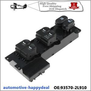 RHD Electric Power Window Switch 93570-2L910 Fits Hyundai i30 2007-2012