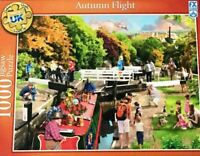 Autumn Flight 1000 Piece Jigsaw Puzzle FX Schmid (Ravensburger) - NEW SEALED