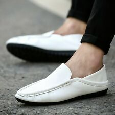 Mens Casual Comfort Flats Moccasins Slip On Flat Driving Shoes Loafers Pump 2020