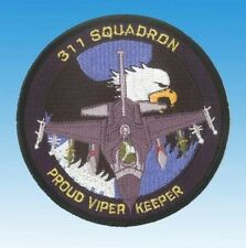 "Patch écusson Lockheed F-16 Fighting Falcon 311 Sqn ""Proud Viper Keeper"""