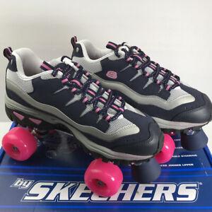 Sketchers Sport 4 Wheelers Roller Skates Women Sz 10 Indoor/Outdoor NEW w/Box