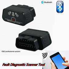 ELM327 Bluetooth OBD2OBDII For Android PC Car Diagnostic Interface Scanner black