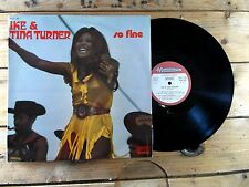IKE AND TINA TURNER SO FINE 33T VINYLE VG+ COVER EX