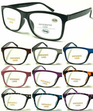 L140G High Quality Big Lens Simple Plain Reading Glasses & Comfort Designed ^^
