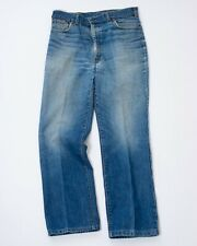 Vintage 1979 Ralph Lauren Polo Western Men's Denim Blue Jeans 34 W x 29.5 L
