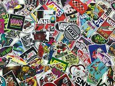100 PCS Vans Skateboard Stickers bomb Vinyl Laptop Luggage Decals Sticker Lot