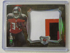 2014 Bowman Sterling Rookie  Jumbo 4 Color Patch Card Charles Sims 38/75