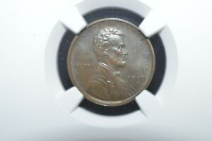 1910  Lincoln cent pf 63 bn ngc