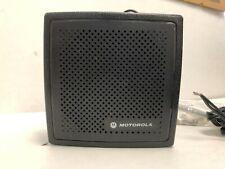 Motorola External Speaker For Mobile Two Way Radio