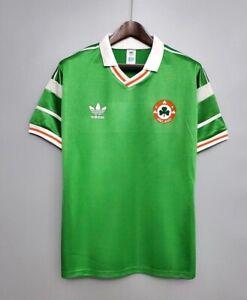 Ireland 1988 Classic Retro Adidas Home Jersey Size XL