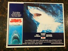"JAWS Original 1975 Lobby Card, 11' x 14"", C7.5 Very Fine Minus"