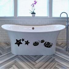 Cartoon Starfish Shells Decal Stickers for Home Wall Tile Bathroom Car Window