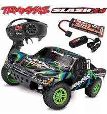 Traxxas 68054-1 Slash 4x4 Brushed 1/10 Short Course RTR Truck Batt & Charger GRN
