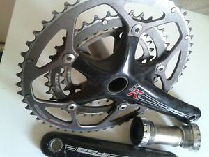 FSA sl-k Carbon crankset Triple Ring Crank