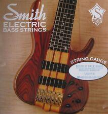 KEN SMITH DB-RWL-6 DOUBLE BALL END BASS GUITAR STRINGS, LIGHT GAUGE 6's - 30-125