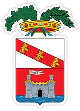 Livorno stemma coat of arms Italy provincia Italia etichetta sticker 9cm x 13cm
