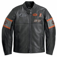 Harley Davidson Screaming Eagle Men's Motorcycle Motorbike Leather Jacket