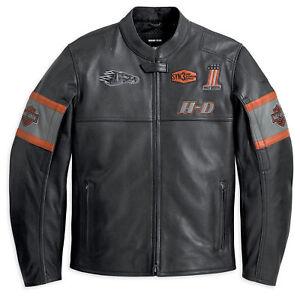 Davidson Screaming Eagle Men's Motorcycle Motorbike Leather Jacket