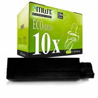 10x MWT Eco Tóner para Oki MB-451-w