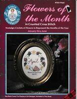 Great Goodstitch Flowers of the Month   Plaid Enterprises 7531 Cross Stitch