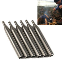 Outdoor Pocket Bellow Collapsible Fire Tools Kit Camping Survival Blow Fire Tube