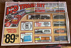 Vintage UNOPENED! Ho Scale Double Train Express Life Like Trains NEW