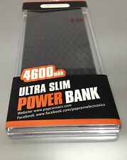 Lot of 50 Power Bank 4600 mah Portable Charger for Iphone or Android or mini USB