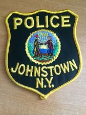 PATCH POLICE JOHNSTOWN - NY NEW YORK state