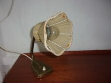 lampe de chevet de table art deco  laiton lamelles  1930