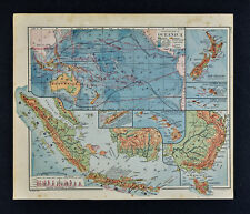 Antique Australia/Oceania Physical Maps for sale | eBay